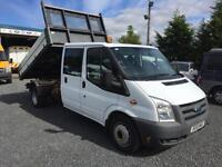 Ford Transit t350 1 stop tipper only 47,000 miles 2010 10 reg 1 owner