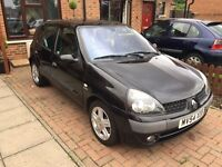 2004 54reg Clio high spec! Low miles and full mot lots of history