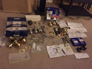 Weiser, Safelock, Brinks, etc..: Door Locks and bolts