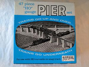 47 Piece HO Gauge Pier Set