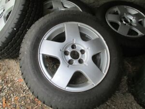 """Golf Mag wheels with NEW 15"""" winter tires"""