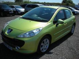 2007 57 PEUGEOT 207 1.6 SE 5D AUTO 118 BHP