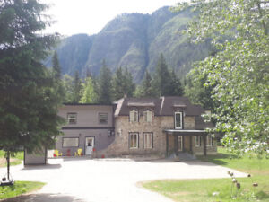 Commercial Zoned Income Property House in Revelstoke BC