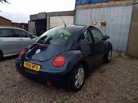 VW Beetle 2001 Y Reg
