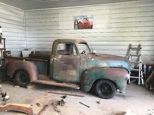 Classic muscle truck