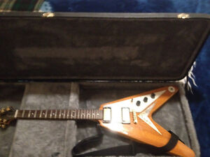 Epiphone Flying V with Gibson pickup