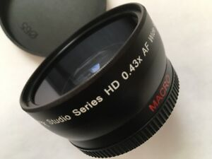 Telephoto and Wide Angle Lens with MACRO
