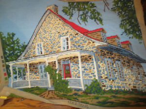 Petit point maison canadienne