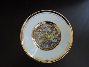 Japan Plate - 24K Gold Plated
