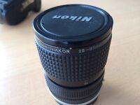 Nikon 28-85 3.5-4.5