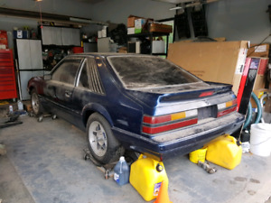 1985 Mustang unfinished