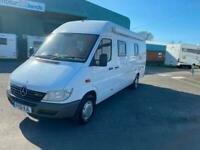 2001 Mercedes Benz Sprinter 2.2 311 CDI 110 BHP MOTORCARAVAN High Top Diesel Man