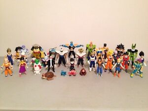 Dragonballz vintage figures lot