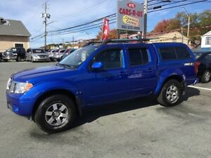 2013 Nissan Frontier 4x4 PRO-4X 4dr Crew Cab 5 ft. SB Pickup 5A