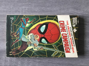 Marvel Novel Series #8 pocketbook novel (1979) with Spider-Man