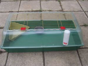 Cage pour hamster, lapin nain, cochon dinde, hérisson, caille
