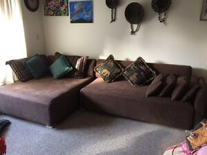 Sectional Sofa with cushions for sale