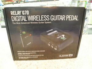 Line 6 Relay G70 Digital Wireless Guitar Pedal NIB