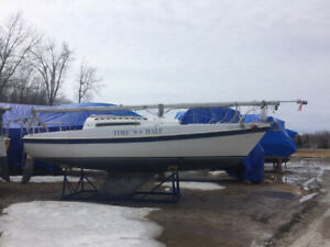 1985 Tanzer 26 Sailboat $1500