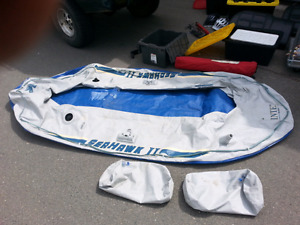 Intex Seahawk 2 inflatable dingy!