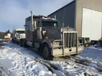 "2007 Kenworth w900L 72"" studio sleeper heavy spec Cummings isx"