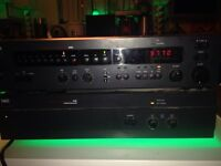 NAD monitor series preamp 1600 and power amplifier 2100