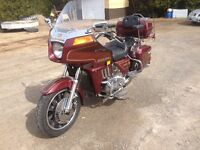1983 goldwing aspencade in nice condition