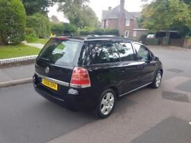 2006 Vauxhall Zafira 1.6i 16v Club MPV Manual Black 2 Keys