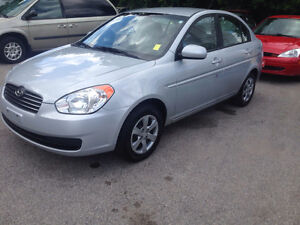 2010 Hyundai Accent 4 door  Sedan Certified and e-tested$4500
