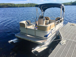 PRE ORDER & SAVE $1000 -NEW 14ft/16Ft Compact Pontoon Package NS