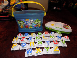LEAP FROG LETTER FACTORY ELECTRONIC BUCKET GAME