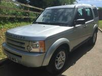 LAND ROVER DISCOVERY 3 GS 2.7TDV6 2009 58 REG