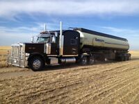Full time oil hauler