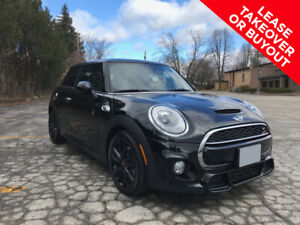 MINI Cooper S – JCW package. Only 14 low lease payments left