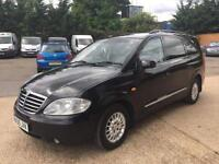 2009 Ssangyong Rodius 270 S AUTOMATIC diesel 7 seater