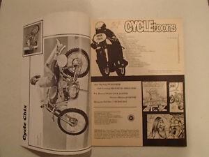Pedersen's CYCLETOONS Number 14 April 1970. VGC RARE. Sarnia Sarnia Area image 3