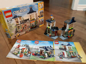 Lego Creator 3 en 1 - toy and grocery shop