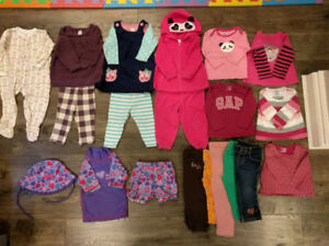 Fall/winter girl clothes (12-18 months)