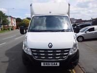 Renault Master 2.3TD Luton box van with extended rear tail lift one owner (20)