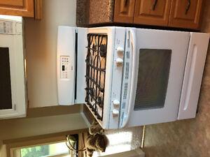 Kenmore gas range oven