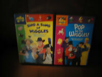 Wiggles DVD's