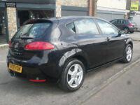 2008 Seat Leon 1.6 Emocion 5DR 08 REG Petrol Black