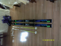 MEN'S SKI EQUIPMENT