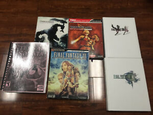 Video Game strategy Guides - PlayStation