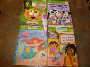 LeapFrog TAG READING Pen with 4 Tag reading Books