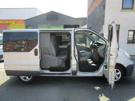 Renault Trafic SWB Factory fitted 6 seat crew van Double cab NO VAT Traffic (22)