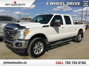 2011 Ford F-350 Super Duty Lariat 4x4 Crew Leather Sunroof!!
