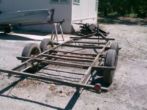 LOOKING FOR OLD TANDEM AXLE TRAILER