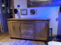 Oak Furniture Land Large Oak Sideboard