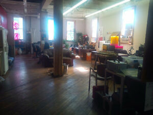Open Loft Office Space Available